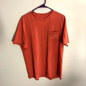 Vineyard Vines Salmon Graphic Pocket T-shirt Med
